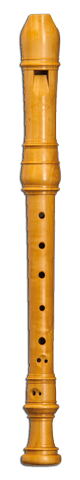 Soprano recorder after R. Wyne